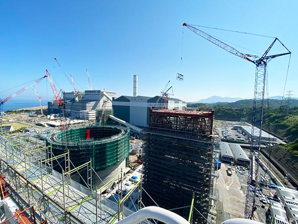 兼建の実績 三隅発電所